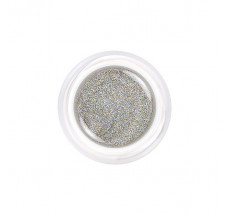 Soak Off Holographic Silver (barevný UV gel)