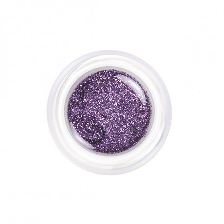 Glitrová fialová č. 124