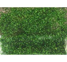 Třpytkový prach zelený