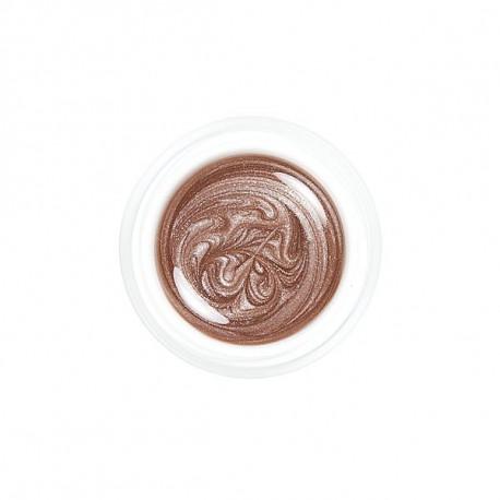Metalická Cappuccino (barevný UV gel)