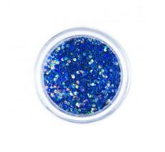 Trblietky veľké modré