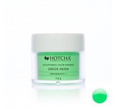 Green neon (barevný akryl)