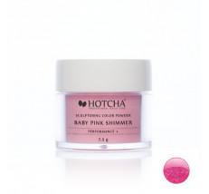 Baby pink shimmer (barevný akryl)