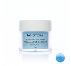 Aquamarine shimmer (barevný akryl)
